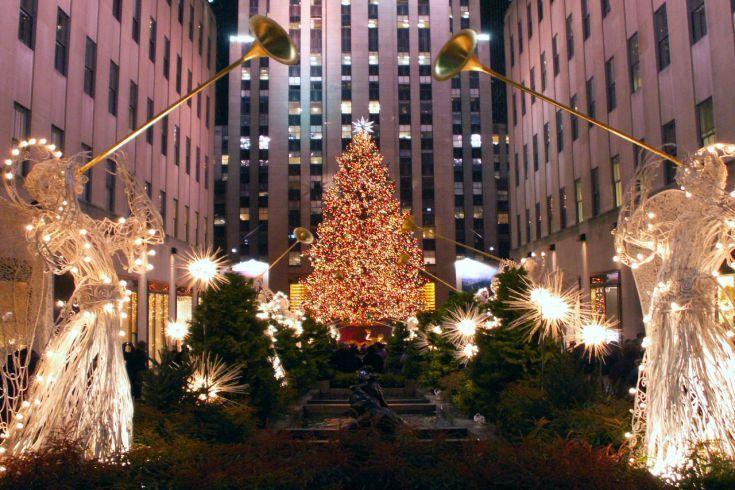 arbre de noel a new york 2018 Illumination du sapin du Rockefeller Center à New York arbre de noel a new york 2018