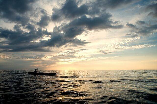Peter Crowley, kayakiste aveugle, tente la traversée Cuba-Floride !