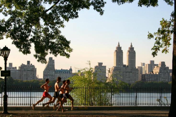 Central Park Running - France run