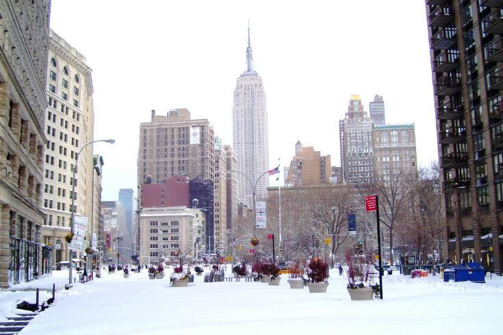 hiver New York