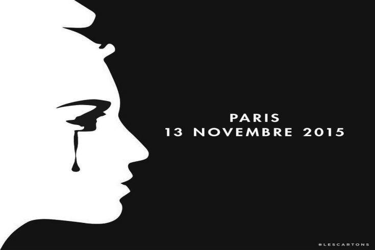 Marianne en pleurs Paris attentats 13 novembre 2015