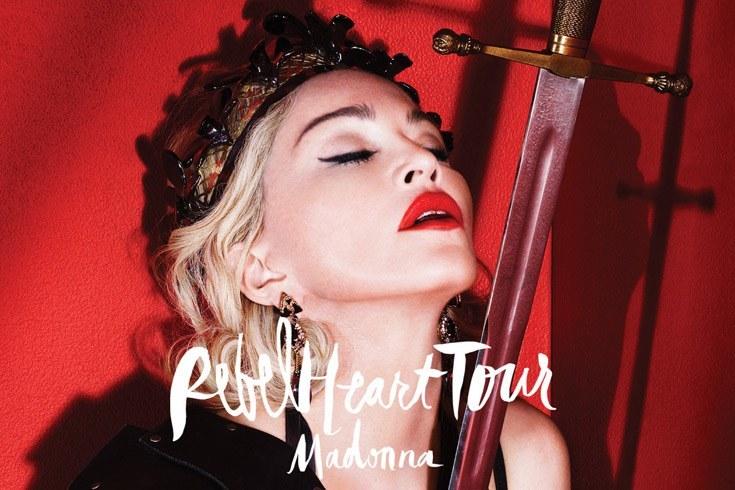 Rebel Heart Tour de Madonna aux USA