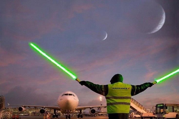 airfrance star wars