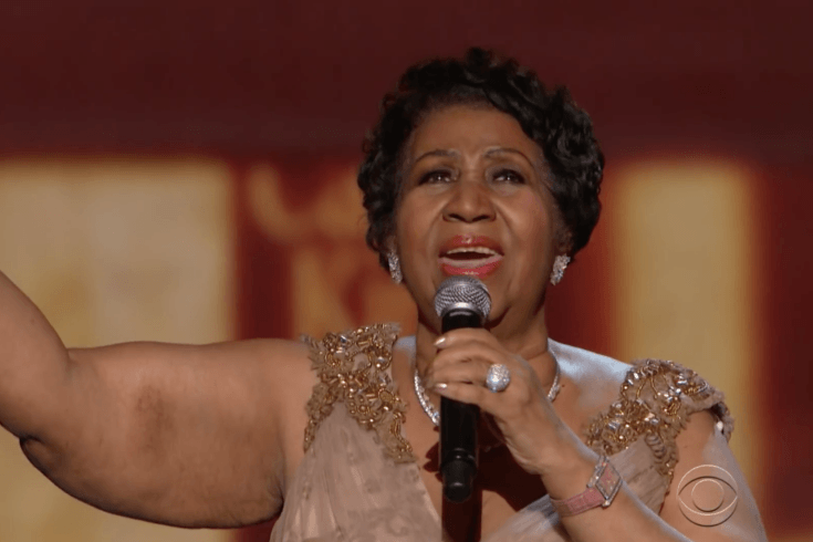 Aretha Franklin sur CBS