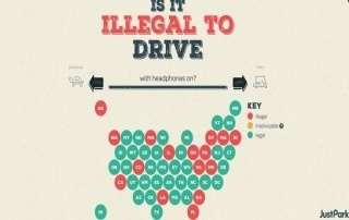Il est illégal de conduire aux USA avec ses écouteurs