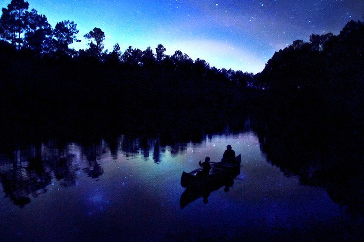 Night Canoe