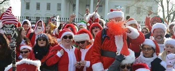 Santarchy Washington DC 2014