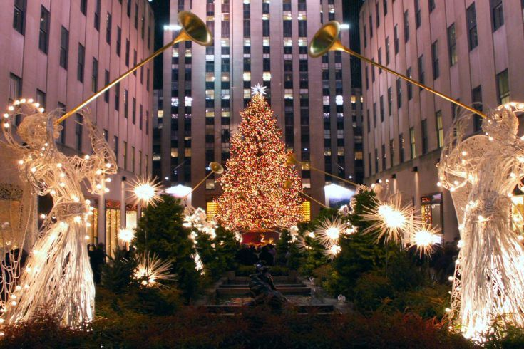 Sapin de Noël du Rockefeller Center à New York
