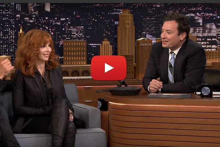 sting mylene farmer jimmy fallon