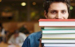 Etudiant livres