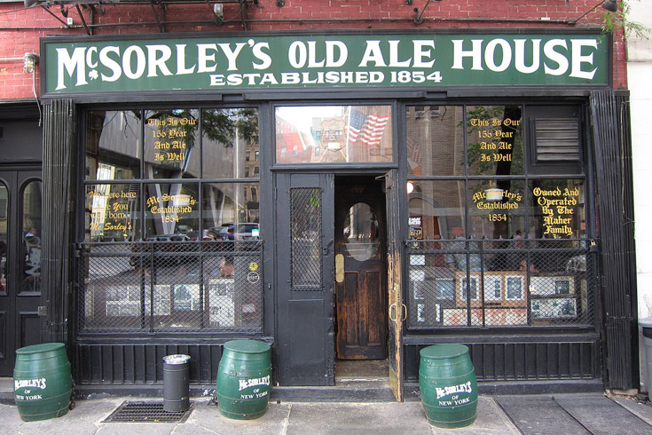 McSorleys Old Ale House à New York