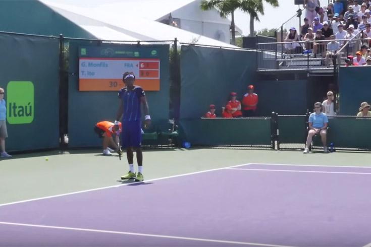 Gael monfils Miami open 2016