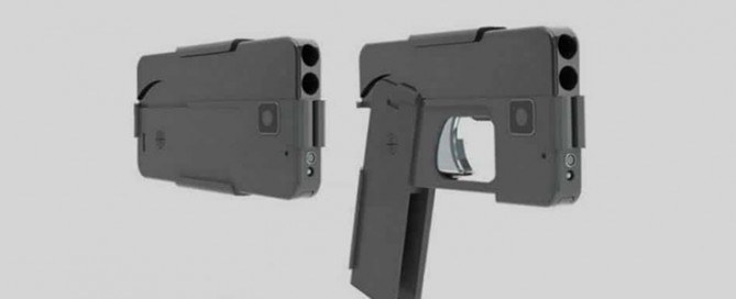 Pistolet smartphone