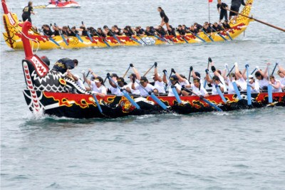 Hong-Kong Dragon-Boat Festival