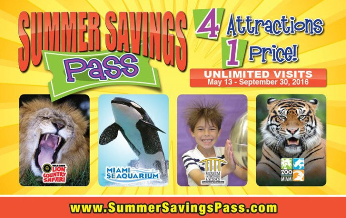 Miami Children Summer Savings Pass