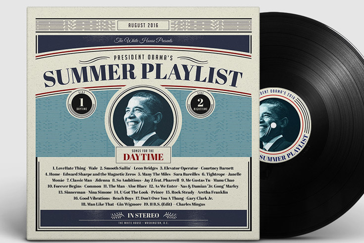 Playlist barack Obama