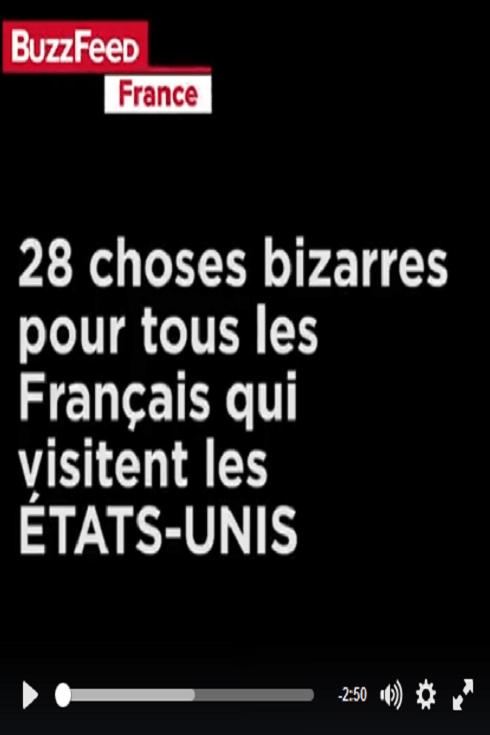 28 choses bizarres pour tous les Français qui visitent les USA