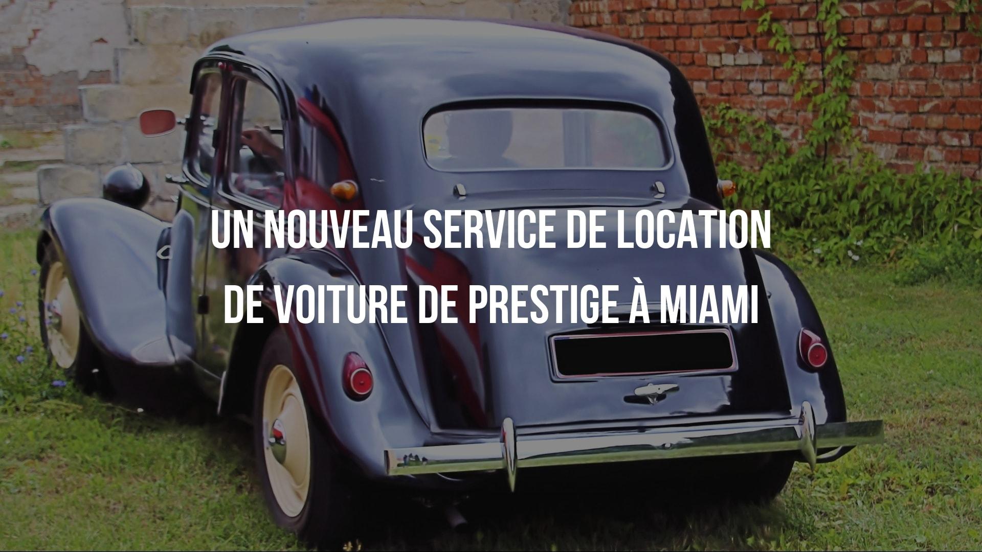 location voiture miami