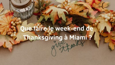 thanksgiving à miami