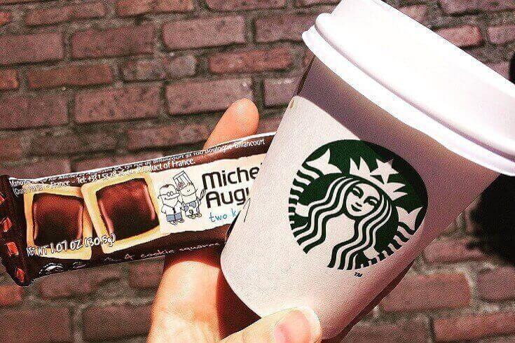 Michel et Augustin Starbucks