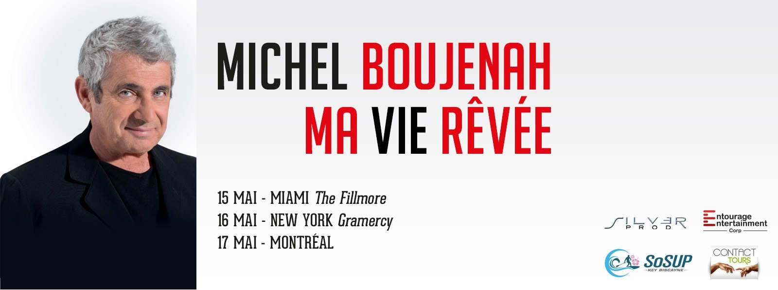 Michel Boujenah - Miami - New York - Denver - Los Angeles