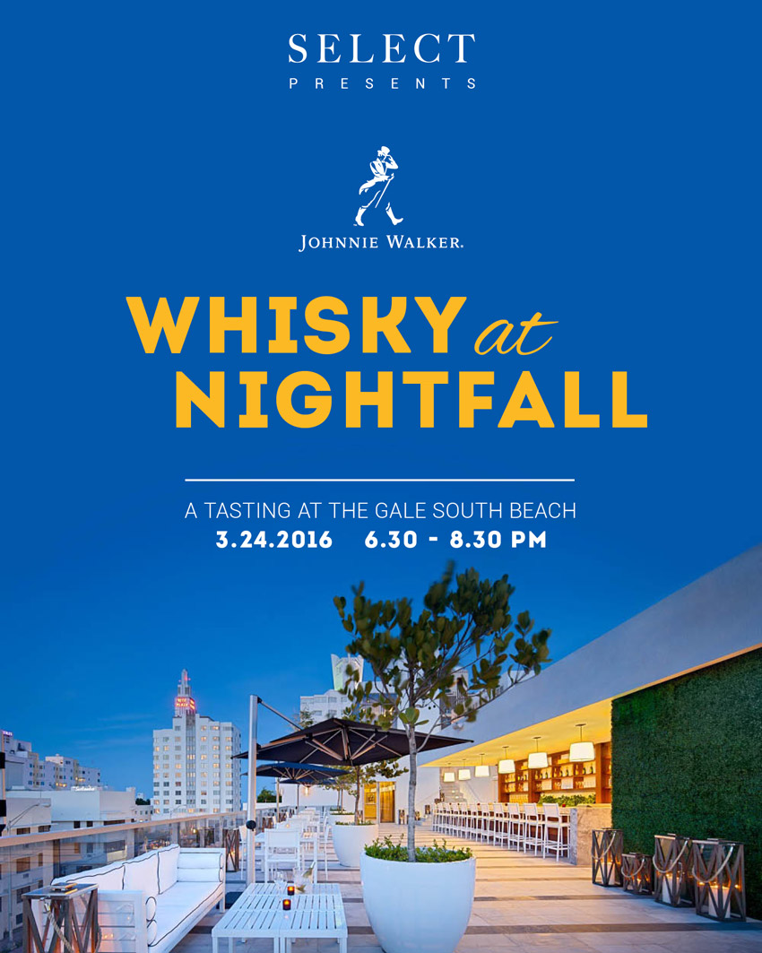 Whisky at nightfall