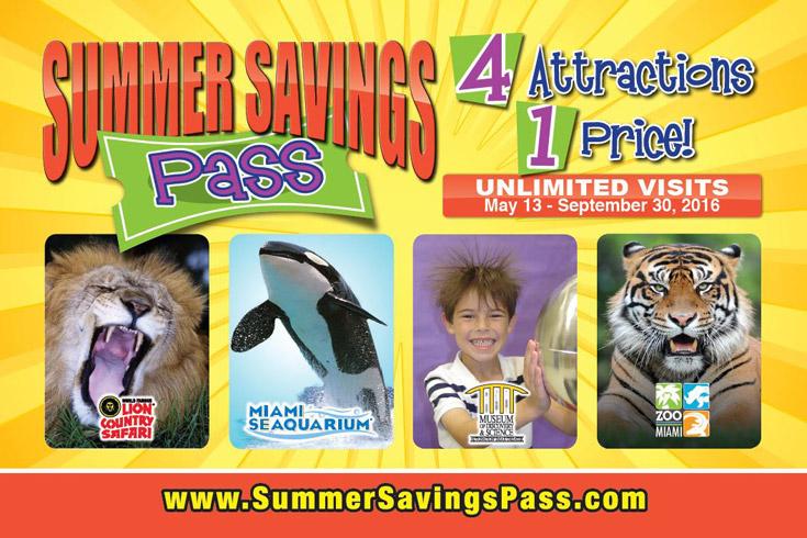 Miami Children Summer Savings Pass