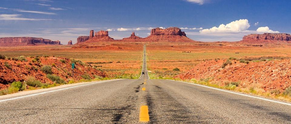 Exemple Road Trip / circuit en voiture dans l'Ouest Américain usa etats-unis
