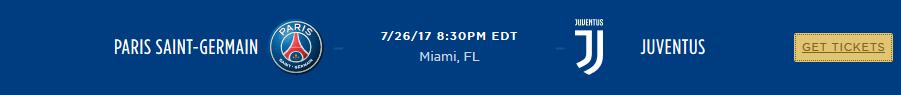 Le PSG jouera des matchs en Floride en juillet 2017